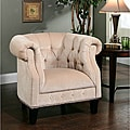 Abbyson Living Cabo Fabric Nailhead Trim Armchair