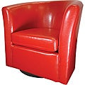 Abir Youth Red Swivel Chair