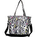 Amy Michelle New Orleans Charcoal Floral Diaper Bag