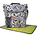 Amy Michelle Lexington Charcoal Floral Diaper Bag