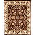 Alliyah Handmade Brown 100 Percent New Zealand Wool Rug (8&#39; x 10&#39;)