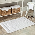 Spa 2400 Gram Journey White Bath Mats (Set of 2)