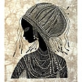 'Girl from Nanyuki' Heidi Lange Screen Print