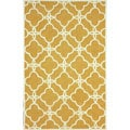 nuLOOM Handmade Easy Care Natural Trellis Rug (6' x 9')