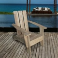 3-Slatted Outdoor Hand-Scraped Adirondack Chair