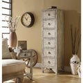 Mixed Taupe Reclaimed Wood 6-drawer Accent Chest