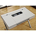 Hollow-core &#39;Connect-It&#39; White 48-inch Tablet Desk
