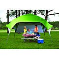Fast Set Instant Pop Up Wing Canopy with Adjustable Rear Wall (10&#39; x 10&#39;)