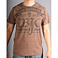 Laguna Beach Jean Co Men's 'Balboa Beach' Brown Graphic Tee