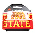 Iowa State Cyclones Rubber Wrist Band (Set of 2)