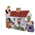 Discovery Kids Coloring 3 Foot Cardboard Playhouse for Color Me Fun