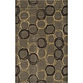Soho Circles Wool Rug (3' x 5')