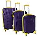 American Team Spirit 3-piece Lightweight Expandable Hardside Spinner Luggage Set With TSA Lock