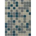 Brio Blend Blue Riff Mosaic Glass Tile (Pack of 20)