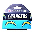 San Diego Charges Rubber Wrist Band (Set of 2) NFL