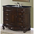 Isidora Single Bathroom Vanity Cabinet with Granite Top