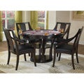 Rio Vista 5-piece Game Table Set Espresso Finish