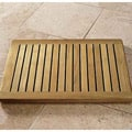 Spa Indonesian 24&quot; Teak Wood Bath Mat