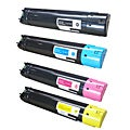 Dell 5130cdn Compatible Multicolor Toner Cartridges (Pack of 4)