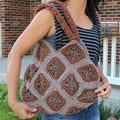Handmade Crochet &#39;Earthy Brown&#39; Handbag (Thailand)