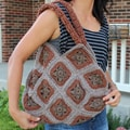 Handmade Crochet 'Earthy Brown' Handbag (Thailand)