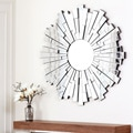 Abbyson Living Empire Round Wall Mirror