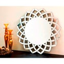 Abbyson Living Isabella Round Wall Mirror