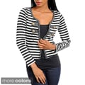 Stanzino Women's Striped Braid-trimmed Jacket