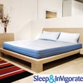 Sleep &amp; Invigorate 8-inch Latex and Foam Mattress