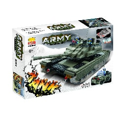 Fun Blocks Military Tank Brick Set