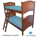 Select Luxury Reversible 6-inch Blue Bunk Bed Twin-size Foam Mattress