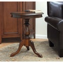 Chestnut Finish &#39;Megan&#39; Accent Table