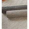 nuLOOM Handmade Concentric Diamond Trellis Wool/ Cotton Rug