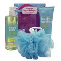 Bliss Happy Spa-Lidays Lemon + Sage 3-piece Gift Set