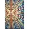 Skye Monet Prism Rug (5'2 x 7'7)