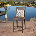 Christopher Knight Home Pacific Wicker Bar Stool