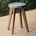 Handcrafted Reclaimed Teakwood 'Vintage Ubud' Stool (Indonesia)