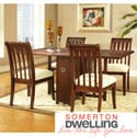 Somerton Dwelling Caress 5-piece Gate Leg Dining Set