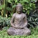 Volcanic Ash Meditating Buddha (Indonesia)