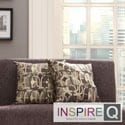 Inspire Q Kayla Fun Geometric 18-inch Square Throw Pillows (Set of 2)