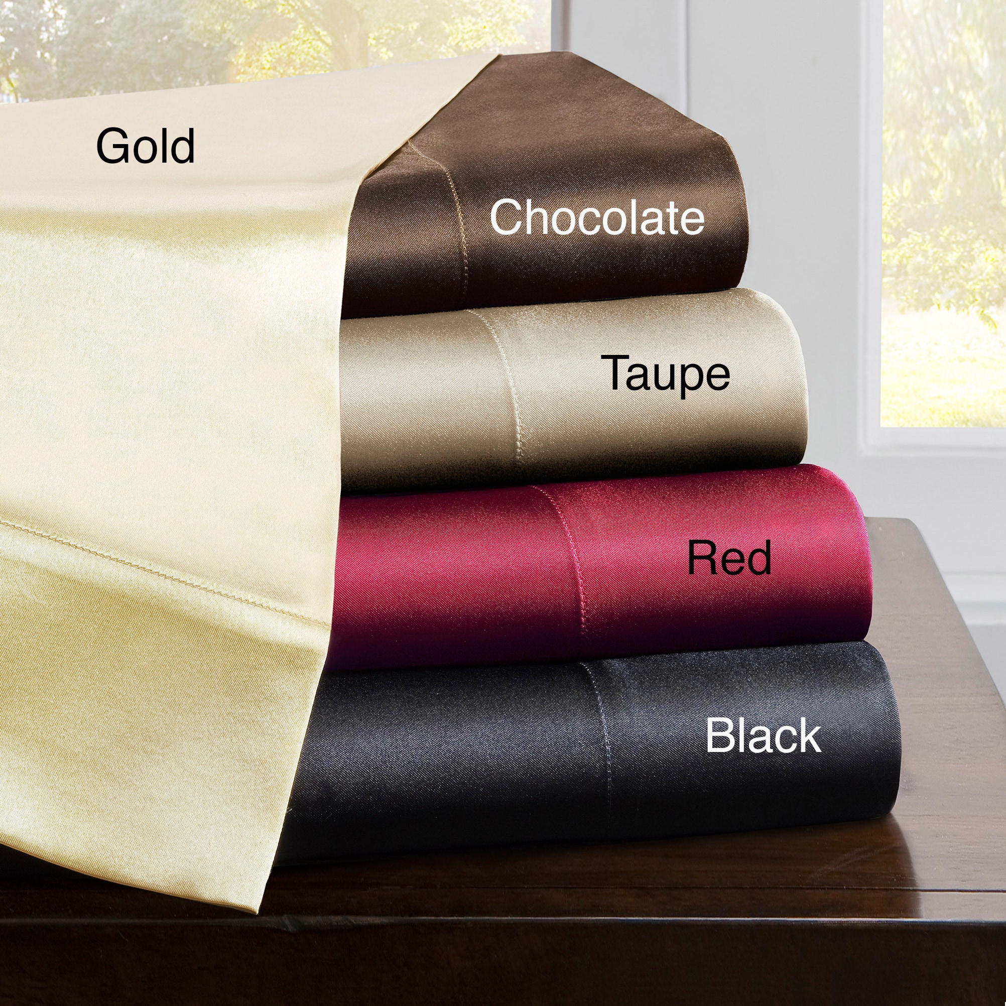 Premier Comfort 6-pc Satin Solid Cal King Sheet Set