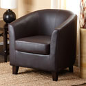Abbyson Living Sullivan Faux Leather Armchair