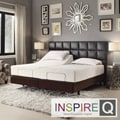 Inspire Q Toddz Comfort Electric Adjustable Split King-size Bed Base with Wireless Remote Control