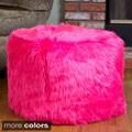 Christopher Knight Home 'Skyler' Faux Fur Cube Ottoman Bean Bag