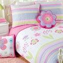 Blossom Twin-size 2-piece Quilt Set