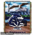 NFL Helmet Woven Tapestry Throw (Multi Team Options)