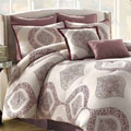 Soho New York Home Bergen 8-piece Cotton Comforter Set