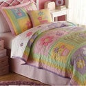 Sweet Helen Applique 3-piece Quilt Set