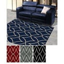 'Ashley' Diamond Design Contemporary Area Rug (3'3 x 4'11)