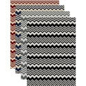 'Ashley' Contemporary Chevron Print Area Rug (7'9 x 11')